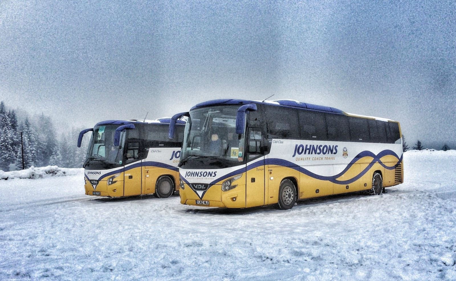 Johnsons Coaches on Ski Trips