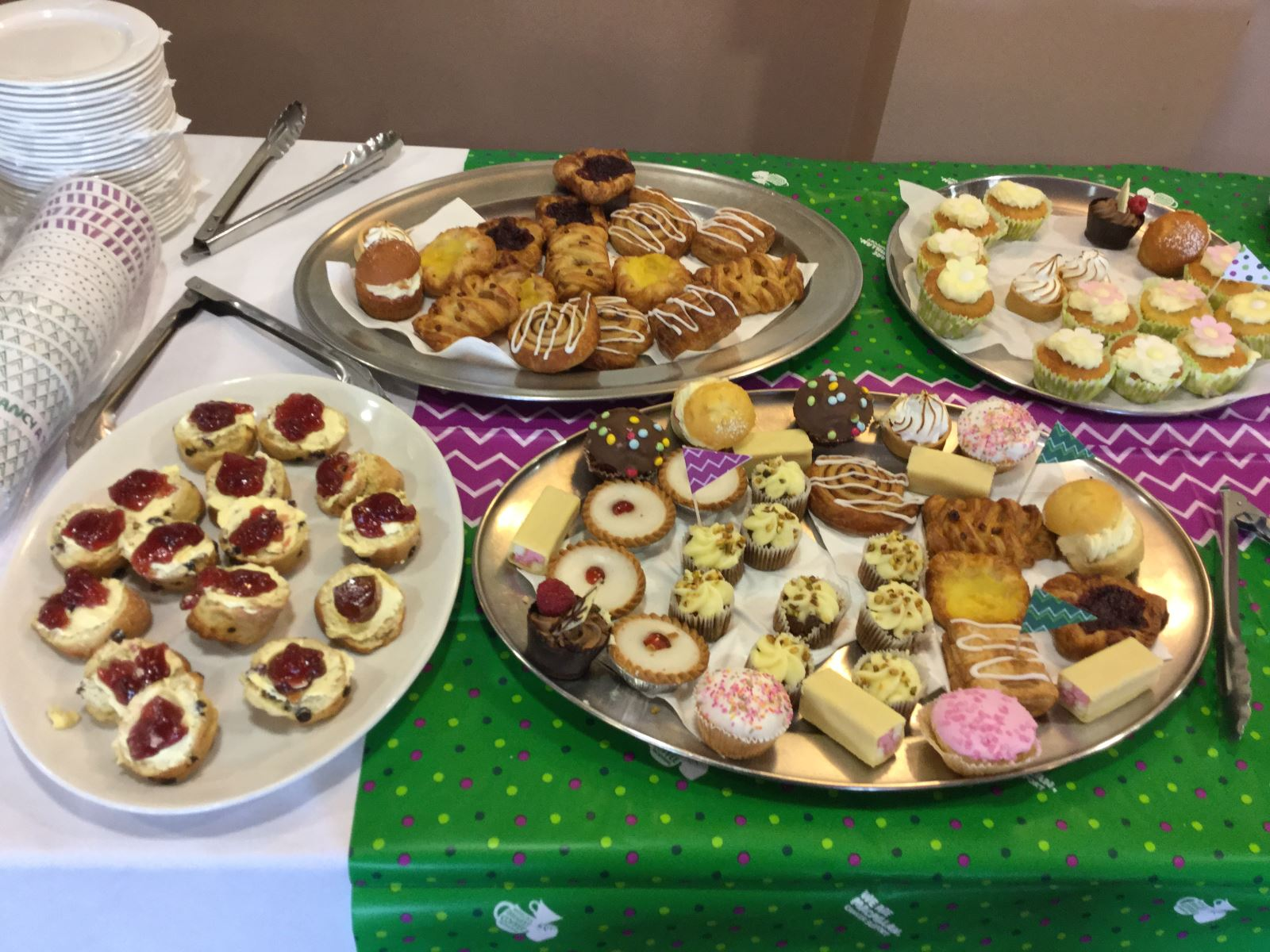 Cakes for Johnsons' Macmillan Coffee Morning