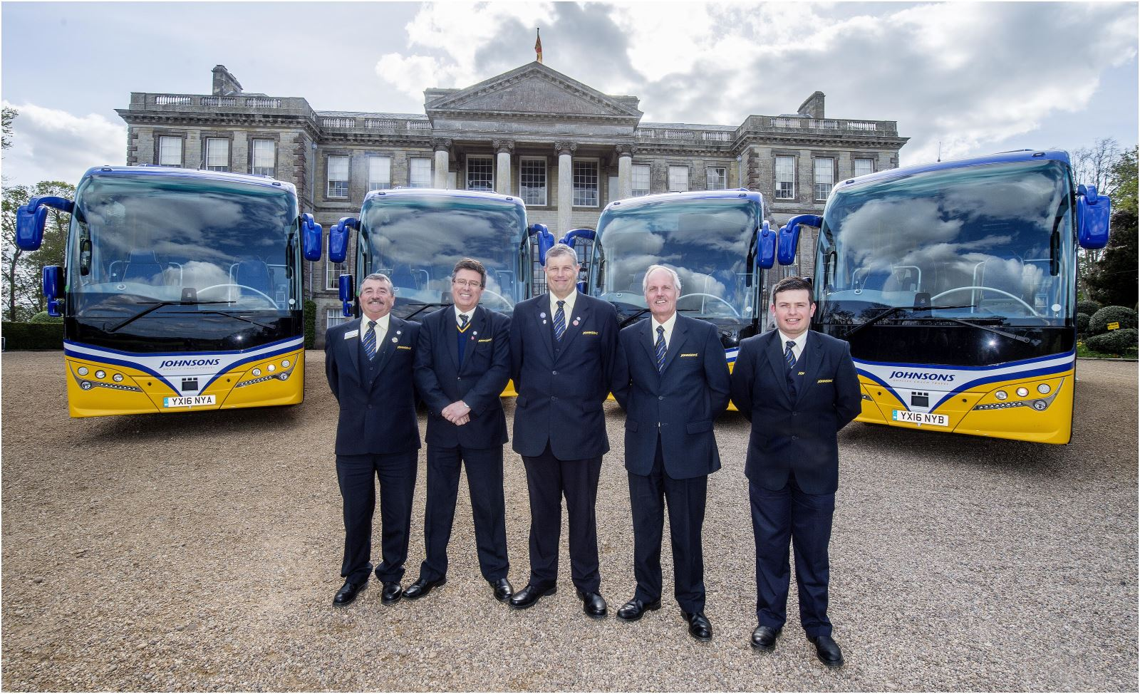 Coach hire for incoming groups to the UK