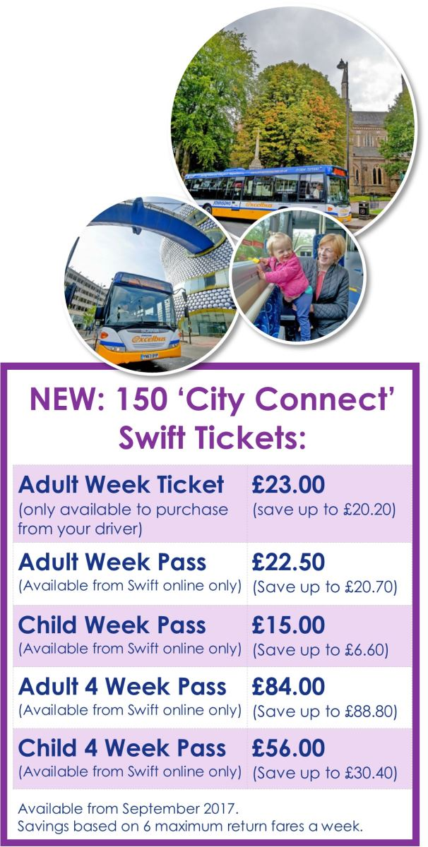 Swift 150 city connect Price panel