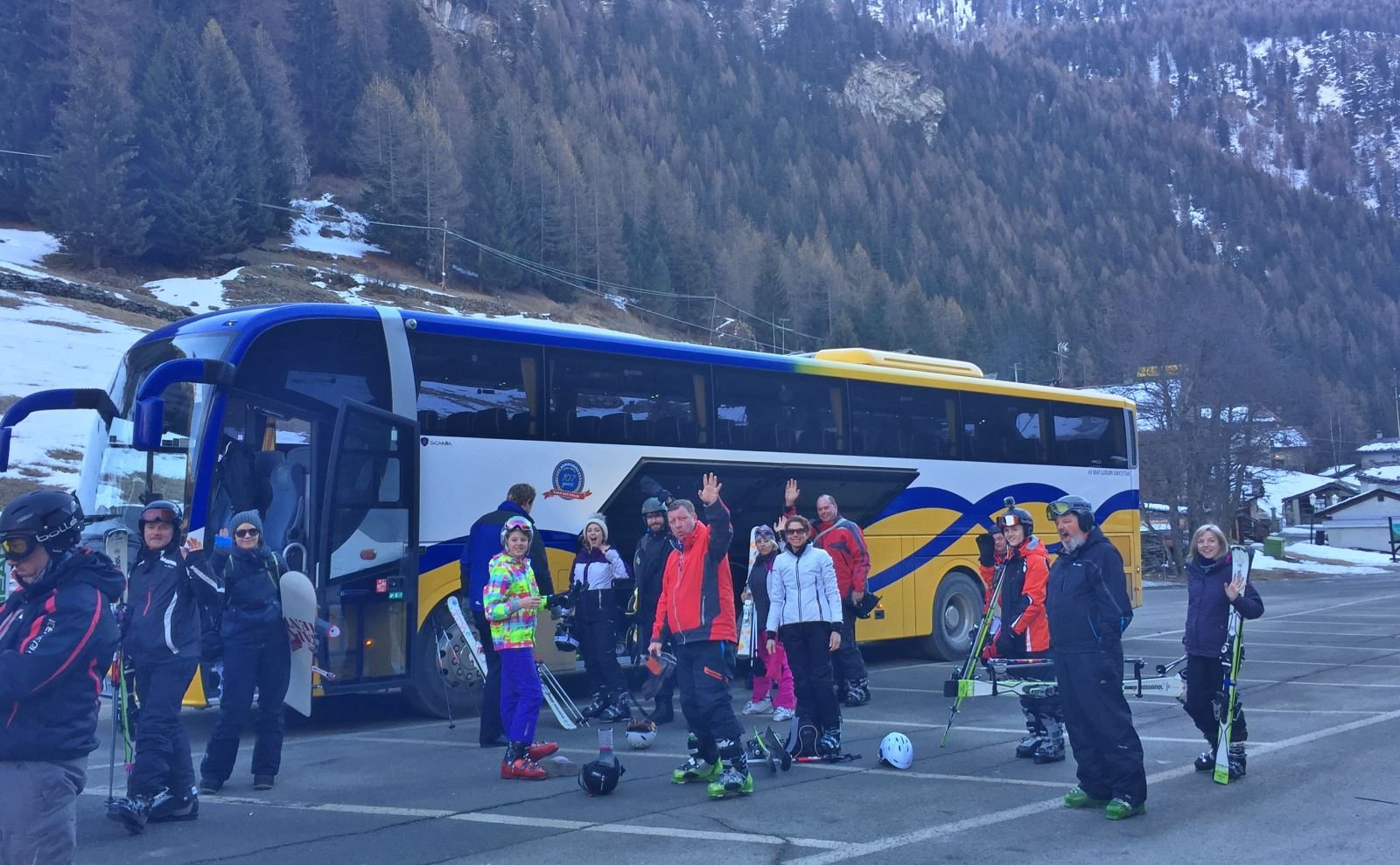 Coach Hire for Ski Trips
