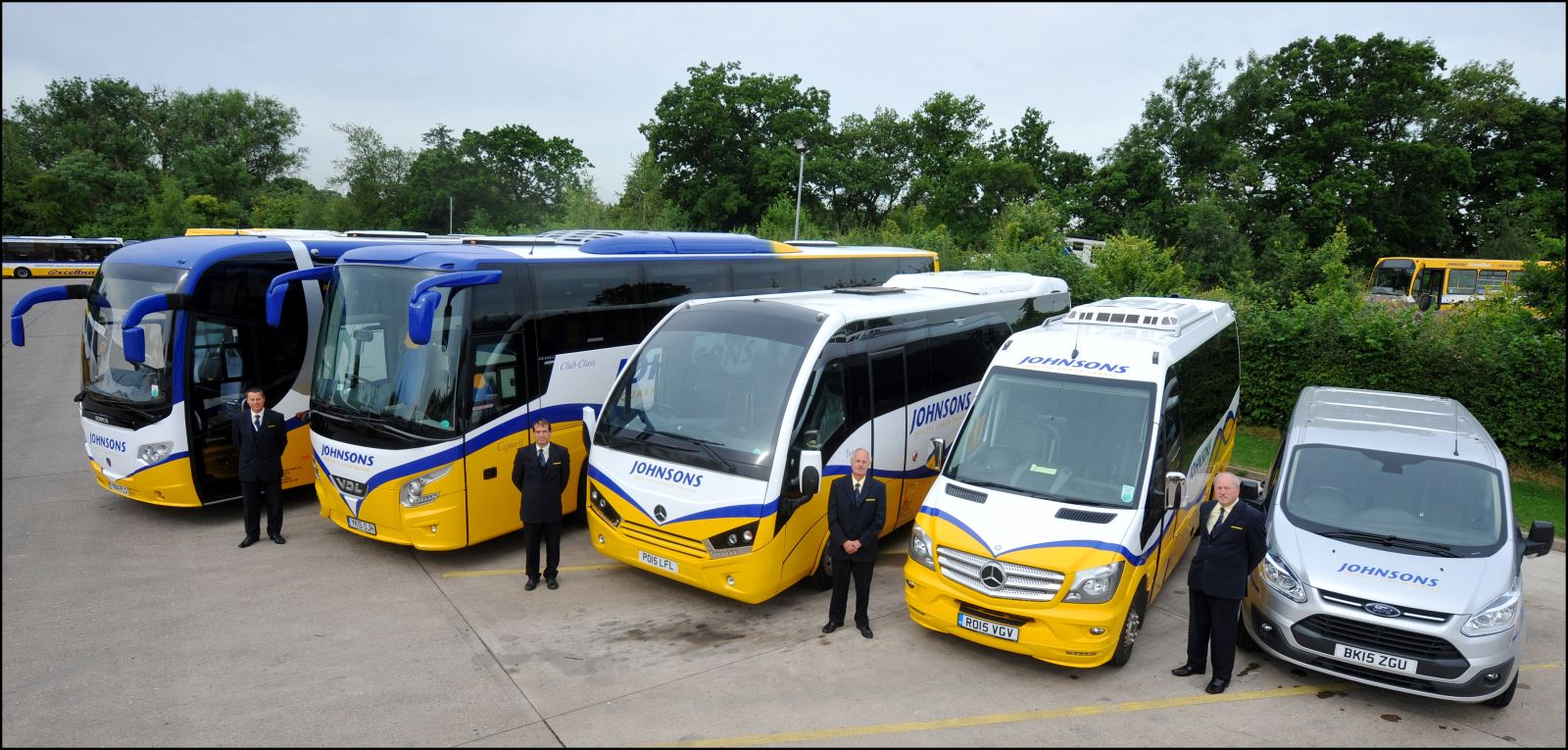 Large Fleet of Coaches