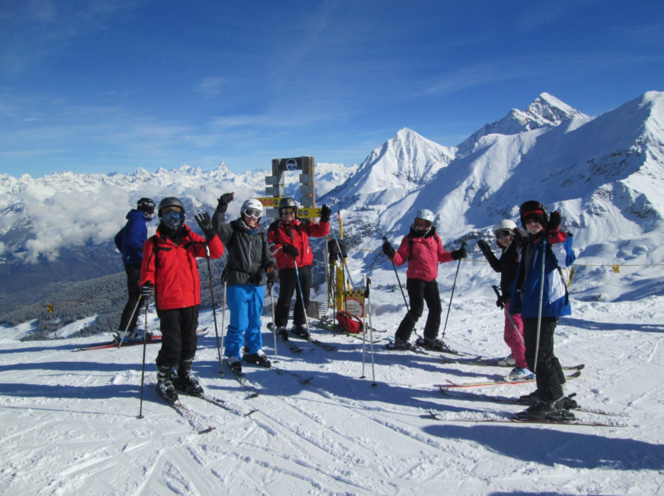 Ski Group with Johnsons Coaches