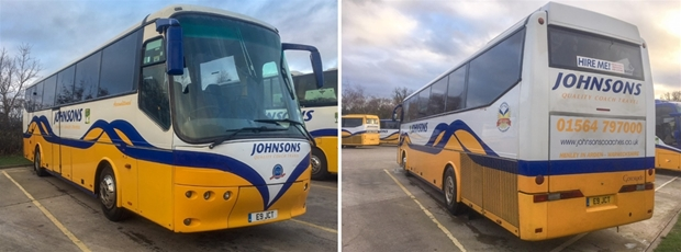 Used Coaches for Sale | Coach Trips | Day Trips | Johnsons Coaches